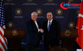 Dışişleri Bakanı Çavuşoğlu Tillerson ile telefonda görüştü