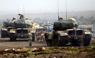 TSK ve ÖSO, Afrin'de tarihi Nebi Huri Tepesi'ni YPG/PKK-DEAŞ'tan temizledi