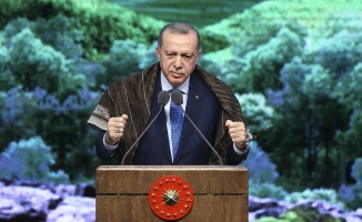 Cumhurbaşkanı Erdoğan: 'Türkiye sınırları boyunca terörist tehdidi ortadan kalkana kadar durmayacak'