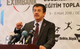 Zeybekci: 2 haneli bir ihracat büyümesi 2018 yılında gerçekleşecek