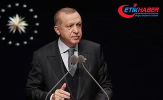 Cumhurbaşkanı Erdoğan: Türkiye, zirveye ulaşana kadar durmayacaktır