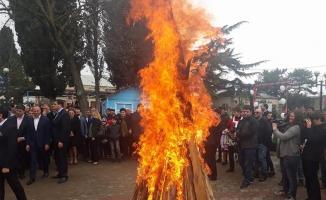 Gürcistan'da Nevruz coşkuyla kutlandı