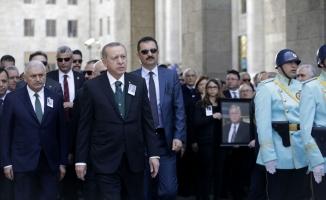 Cumhurbaşkanı Erdoğan: Ne zaman bu ülkede mazlum, mağdur varsa Hasan Celal ağabeyimiz her zaman onların yanında yer aldı