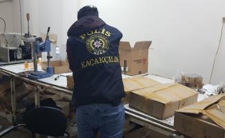 İstanbul'da 2 milyon TL'lik sahte parfüm operasyonu
