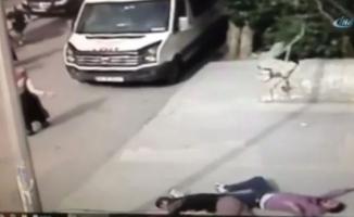 İstanbul'da dehşet anları kamerada: 1 ölü, 2 yaralı