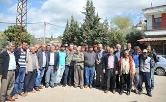 Suriye sınırındaki köyde çimento fabrikası tepkisi