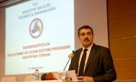 Gümrük ve Ticaret Bakanı Tüfenkci: Teşviklerle kooperatiflerimizi destekleyeceğiz