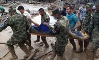 Kolombiya'da sel felaketinde ölenlerin sayısı 250'yi geçti
