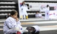 Uluslararası Eskrim Çocuk Kupası Antalya'da başladı