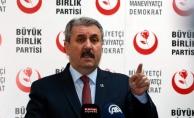 BBP Genel Başkanı Destici: Barzani'ye artık haddini bildirme zamanı gelmiştir