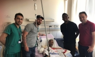 Eto'o'dan Antalyaspor taraftarına ziyaret