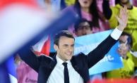 """Macron'un seçimden sonra ilk mesajı """"birlik"""" oldu"""