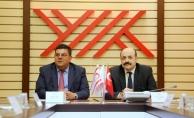 KKTC Milli Eğitim ve Kültür Bakanı Berova'dan YÖK'e ziyaret
