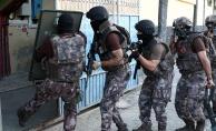 Mersin'deki uyuşturucu çetesine yönelik şafak operasyonu