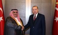 Cumhurbaşkanı Erdoğan Bahreyn Dışişleri Bakanı ile görüştü