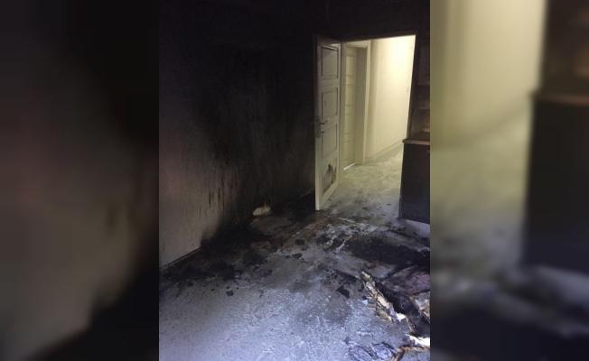 Giresun'da engelli bakım merkezinde yangın
