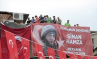 Şehit Jandarma Onbaşı Sinan Hamza'nın cenazesi, Trabzon'da toprağa verildi