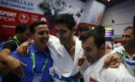 Karate branşında Erkek Kata Milli Takımı altın madalya elde etti