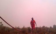Mersin'deki orman yangını 3 gündür devam ediyor