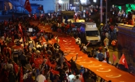 Ankara Valiliği: Milli Birlik Yürüyüşü'ne 400 bin kişi katıldı