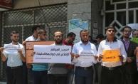 Haber sitelerine erişim engeli Gazze'de protesto edildi