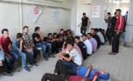 Hatay'da 56 kaçak yakalandı