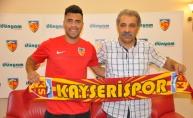 Kayserispor, Gonzalo Espinoza'yı renklerine kattı