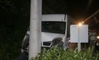 Kocaeli'de öğrencileri taşıyan minibüs kaza yaptı: 15 yaralı