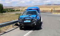 Sivas'ta askeri araçla otomobil çarpıştı: 1 ölü, 4 yaralı