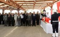 Uşak'ta şehit polis için tören düzenlendi