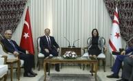 Başbakan Yardımcısı Akdağ KKTC Meclis Başkanı Siber ile görüştü