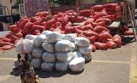 Bir haftada 1 ton uyuşturucu ele geçirildi
