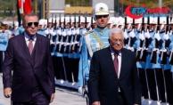 Filistin Devlet Başkanı Abbas Ankara'da