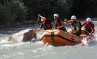 """""""Türkiye'de potansiyeli en yüksek spor rafting"""""""