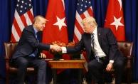 """ABD Başkanı Trump: """"(Cumhurbaşkanı Recep Tayyip Erdoğan) O, dünyanın zor bir bölgesinde çalışıyor"""