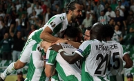 Atiker Konyaspor'dan UEFA Avrupa Ligi'nde ilk galibiyet