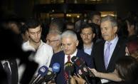Başbakan Yıldırım: Mecliste görevi başında kriz geçiriyor. Üzüntümüz büyük