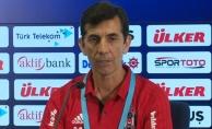 Beşiktaş Antrenörü Çiçek: Seyredenler açısından güzel bir gece oldu