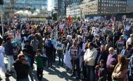 Danimarka'da Arakan protestosu
