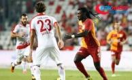 Galatasaray'dan ilk puan kaybı