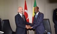 İçişleri Bakanı Soylu Senegal'de