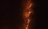 Karabük'teki orman yangını sürüyor