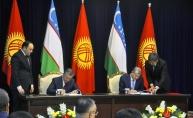Kırgızistan ile Özbekistan arasında sınır anlaşması imzalandı