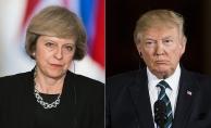 Trump, May ile Rusya'yı görüştü