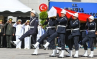 Şehit polis için tören yapıldı