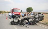 Sivas'ta trafik kazası: 9 yaralı
