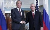 Tillerson ve Lavrov telefonda görüştü