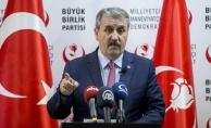 BBP Genel Başkanı Destici: Sayın Bahçeli'nin seçim barajıyla ilgili yaptığı açıklamayı çok önemsiyoruz, doğru ve saygıdeğer buluyoruz