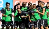 Beşiktaş, Medipol Başakşehir maçı hazırlıklarını sürdürdü