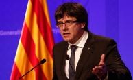 Katalonya Özerk Yönetim Hükümeti Başkanı Puigdemont, erken seçime gitme kararından vazgeçti